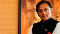 BJP trying to turn LS polls into 'khaki election', says Shashi Tharoor