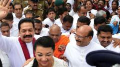 Mass protest rally in Lanka against ousted PM's sacking