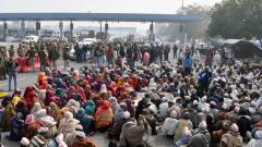 Farmers' protest at DND flyway ends
