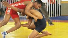 Dominant Abhishek scales wrestling gold medal