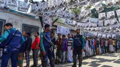 Voting ends in Bangladesh election