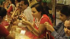 High prices take sheen off gold sales on Dhanteras