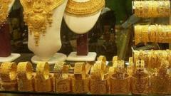Gold nears Rs 40,000; silver soars Rs 2,110