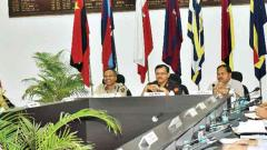 First civil-military liaison meeting held