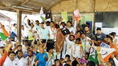 NCP youth wing protests against unemployment
