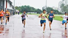 Romir Mukherjee fastest in Under-14 category