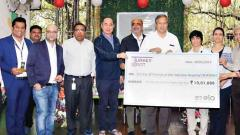 US firm donates Rs 10L to SOFOSH