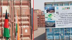 History made with the arrival of Afghan shipment via Chabahar