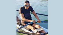 Wing Commander Shantanu who is aiming for gold at the Asian Para Rowing Competition that will be held in South Korea in October, this year.
