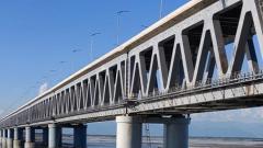 PM inaugurates India's longest rail-cum-road bridge in Assam