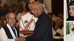 Pranab, Nanaji Deshmukh, Bhupen Hazarika conferred Bharat Ratna