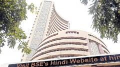 Sensex, Nifty end marginally higher, Jet ends 40% down