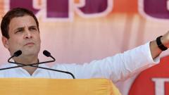 Note ban hurt the poor, benefited rich: Rahul Gandhi