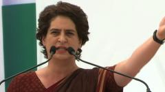 Economy falling into deep abyss of recession: Priyanka Gandhi