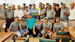 Ikram Khan leads Poona Club golf course to title win