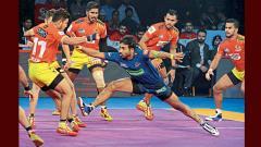 Gujarat Fortunegiants defeat Haryana Steelers