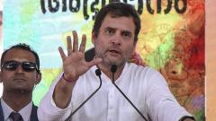 PM provided 'minimum income guarantee' to his 15 friends: Rahul Gandhi