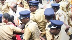 Tension ahead of Sabarimala Temple opening, some people taken into custody