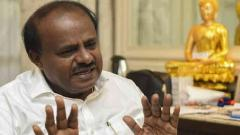 "Cong shouldn't treat JD(S) as ""third grade citizen"" in seat sharing, says Kumaraswamy"
