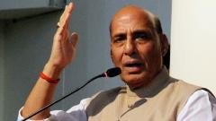 Pakistan has no locus standi on Kashmir: Rajnath Singh