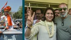 LokSabha 2019: Urmila Matondkar, Priya Dutt file nominations in Mumbai