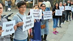 Kalyaninagar locals miffed with metro route change
