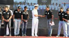 Platinum jubliee celebration: INS Shivaji car expedition culminates