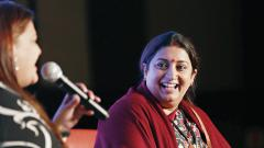 The day Modi hangs his boots, I will quit politics: Smriti Irani