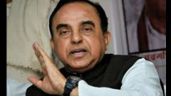 Swamy lashes out at BJP for economic slowdown