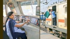 Now, women master tough job of loco driver