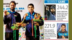 Abhishek puts India firmly on top
