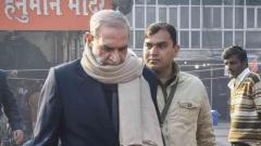 Ex-Cong leader Sajjan Kumar appears before Delhi court in 1984 anti-Sikh riots case