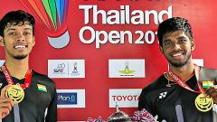 Satwik-Chirag creates history by becoming first Indian pair to win BWF Super 500 tourney