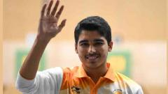 Saurabh Chaudhary wins gold with world record
