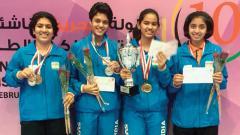 Indian junior paddlers impress at Bahrain Open