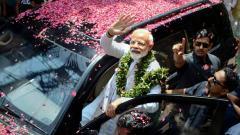 LokSabha 2019: Accompanied by top NDA leaders, Modi files nomination for Varanasi LS seat