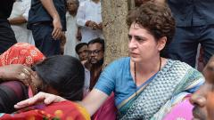 Family members of Sonbhadra clash victims meet Priyanka at UP guesthouse