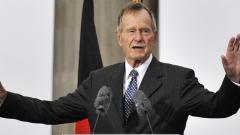 Former US president George H W Bush dies