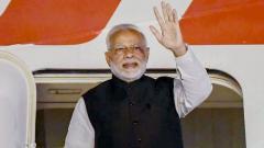 Modi held up at Dehradun airport due to bad weather