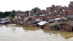 Floods wreak havoc in Bihar, death toll reaches 102