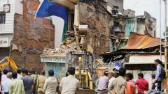 Old building in Raviwar Peth area collapses; no casualties reported