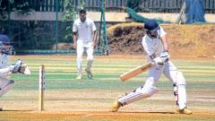 In form Hingnekar ton puts PYC boys in strong position