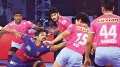 Jaipur Pink Panthers hold Dabang Delhi to a thrilling 37-37 draw