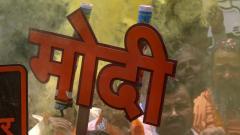 Modi in Varanasi for thanksgiving visit, offers prayers at Kashi Vishwanath temple