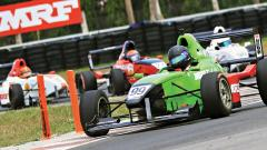 Full grid for MRF Formula 1600 with 4 races