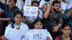Doctors threaten indefinite strike against National Medical Commission Bill