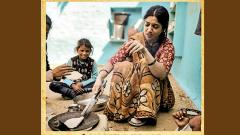 Bhumi made roti, subzi on a chullah for 'Son Chiriya'