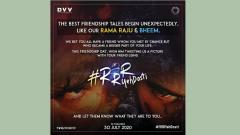 Team 'RRR' launches a Friendship day campaign