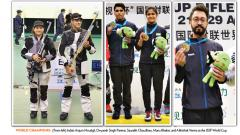 India top medal tally in Beijing Shooting WC