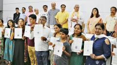 22 people from Sindhi community in city receive Indian citizenship
